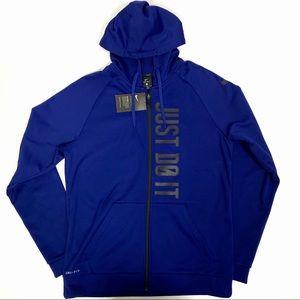 Nike Dri-Fit Therma Full Zip Training Hoodie M NWT